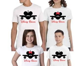 Disney Bound Family Disney Shirts, Disney Family Shirts, Matching Shirts Disney, Mickey and Minnie Head Shirts, Disney Shirt