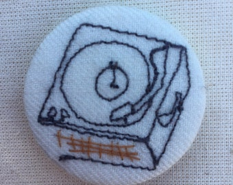 Record Player Patch Etsy