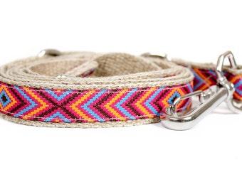 Dog collar / leash GEOMETRIC