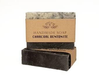 BIGGEST SALE Handmade Activated Charcoal Bentonite Soap