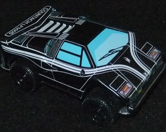 Lamborghini Countach LP500S  vintage c1960s tinplate friction sports car made in Japan (made by Yone?)