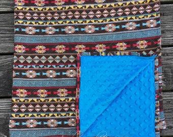 Aztec Print Blanket