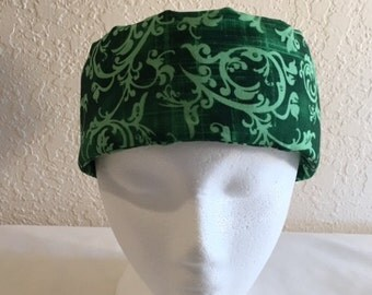 FreezeIt! Migraine Headwraps Light Green Dark Green