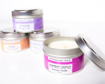 MOISTURIZING MASSAGE CANDLE - Various Scents