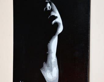 Feel Stencil Spray paint