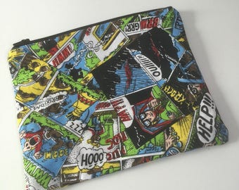 Comic pencil case /pouch