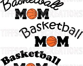 Cameo cutter, basketball mom, mom basketball shirt, explore decor, cricut explore, basketball mom shirt, mom svg, cricut explore file