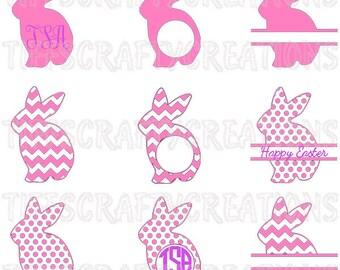 Easter bunny files, easter cricut svg, bunny files, cricut explore air, bunny cricut svg, easter silhouette, bunny svg, bunny cut file