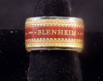 Winston Churchill Blenheim Cigar 2nd Band Ring