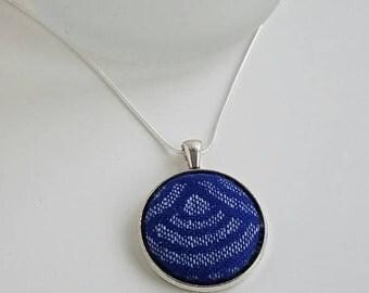 Wrap Scrap Jewelry - Necklace - Oscha - Sekai Hanalei - Wrap Scrap - Babywearing - Waves - Earth Day - Multicolored