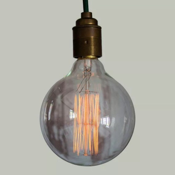 Edison Filament Bulb - XL Squirrel Cage Globe