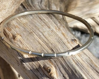Tribal bracelet. Sterling silver bangle bracelet. Bangle bracelets. Silver bracelets. Bangles. Stackable. Sterling bracelets. Thin bracelets