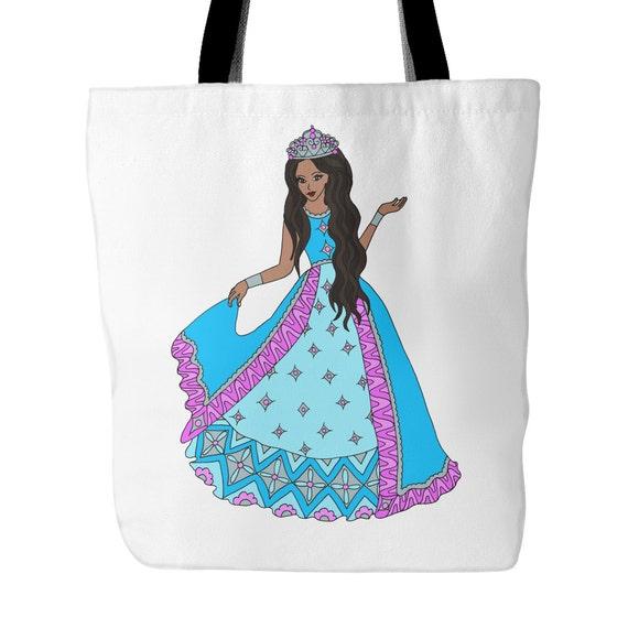 Tote Bag - African American Princess