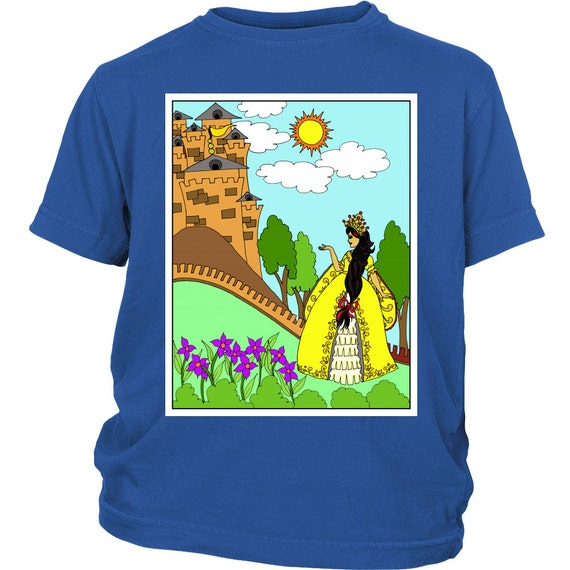 Youth Shirt - Princess Sofia And Her Castle