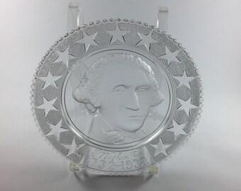 George Washington Commemorative Plate