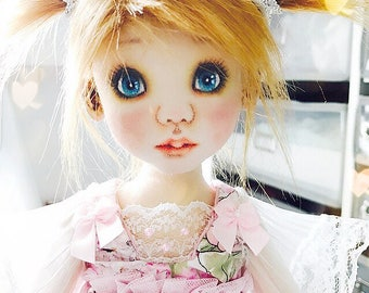 PamicDolls - 40 cm Fabric doll, Cloth doll