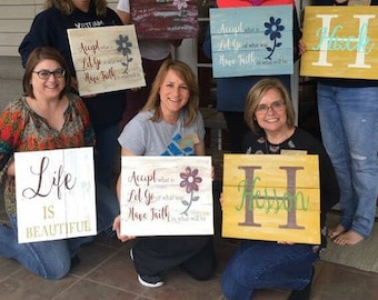 Kellie Tuckers Paint Party