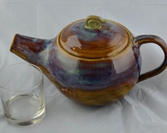 Galatic, nebula clay teapot