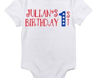 Design A Onesie for birthday, christmas, easter, events, or other holidays.