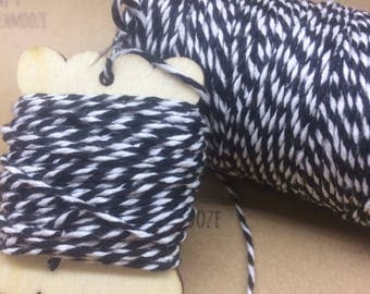 100m Bakers twine, string, packaging twine, cotton twine, coloured string, wrapping, gift wrap, gift wrapping, twine, string, cotton string