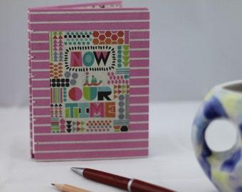 Handbound notebook journal diary