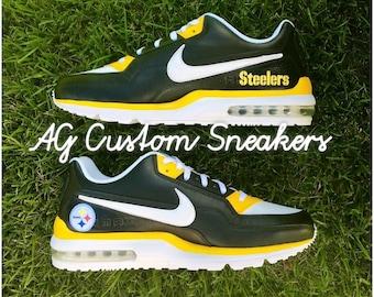 Custom Pittsburgh Steelers Air Max Sneaker