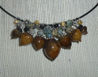Acorn Necklace #4