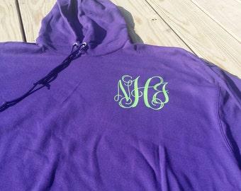 Monogrammed Hoodie, monogrammed,  monogram,  Monogrammed left chest hoodie, Hoodie, monogram hoodie,  hoodies, hoodie