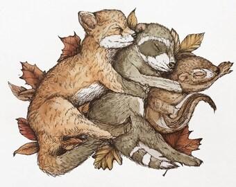 Woodland Snuggles