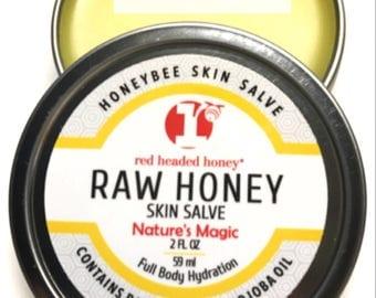 Raw Honey Skin Salve-Multi Purpose and Full Body Use