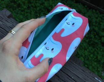 Teeth pencil pouch