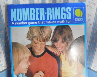 Number Rings A Number Game That Makes Math Fun by Orda from 1981