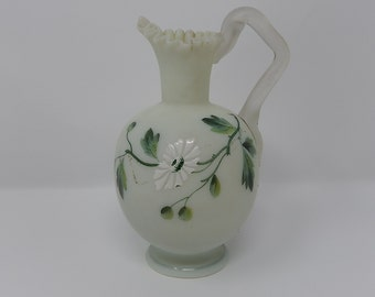 Old Pitcher in Glass Paste, Free Shipping