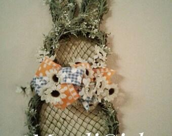 Bunny spring wreath