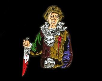 Myers Kid Halloween Horror Enamel Pin