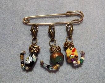 Kilt Pin. Dog Brooch. Puppy jewellery