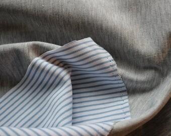Striped A-line - Doubleface - uni 0.50 x 1.50