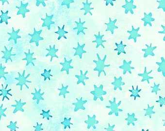 Northcott - Ocean Tides - Stars - 21519-42 - Fabric by the Yard