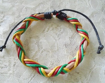 Leather bracelet, Boy bracelet, Available in two colors