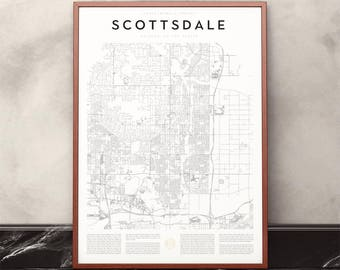 Scottsdale Map Print