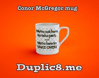 Conor McGregor personalised mug