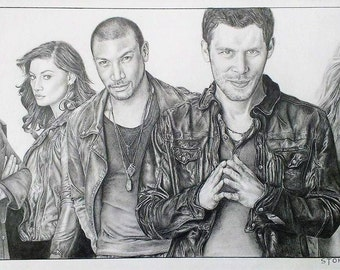 The Originals - Vampires Diaries - A3 Print