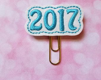 Blue 2017 Planner Clip   Paperclip Bookmark    Bookmark    Paperclip   Planner Bookmark   Paperclip Bookmark   Planner Clips