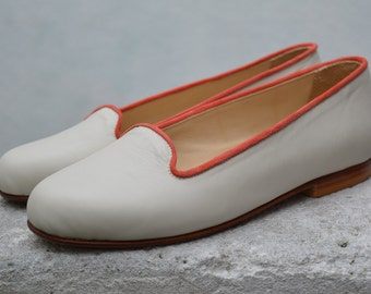 Handmade Ballerina Leather Shoes