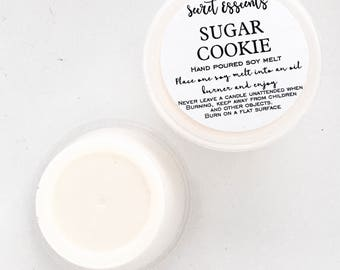 Sugar Cookie Natural Soy Wax Candle Melts. Favor. Gift