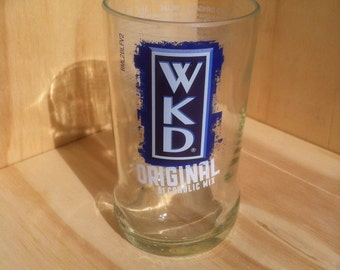 Recycled Beer Bottle WKD Glass