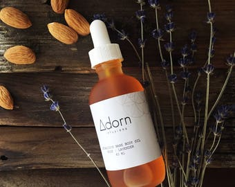 Body Oil Lavender   Rose Firming, Natural sun screen, Moisturizes, Blemishes, anti-aging