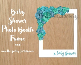 Baby Shower Photo Booth Frame, Instant Download, Printables, Photo Booth, Digital Design