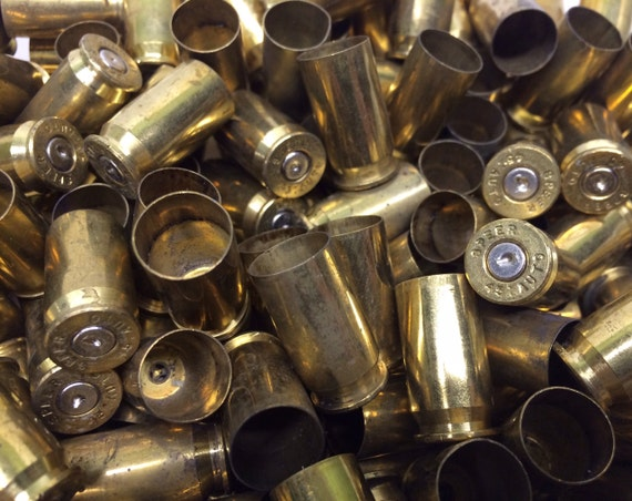 2 lb. 45 Auto Speer Brass Shell Casing Casings Metal Empty Spent Hollow Art Supply Altered Assemblage Supply Shells