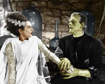 Bride of Frankenstein movie poster 11x17